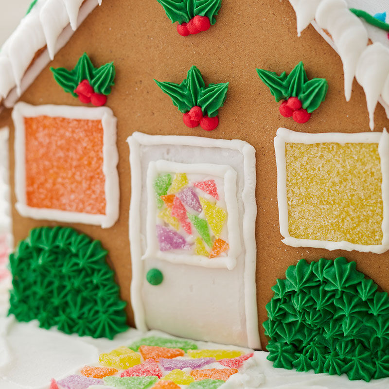 How to Make Bushes on a Gingerbread House image number 0