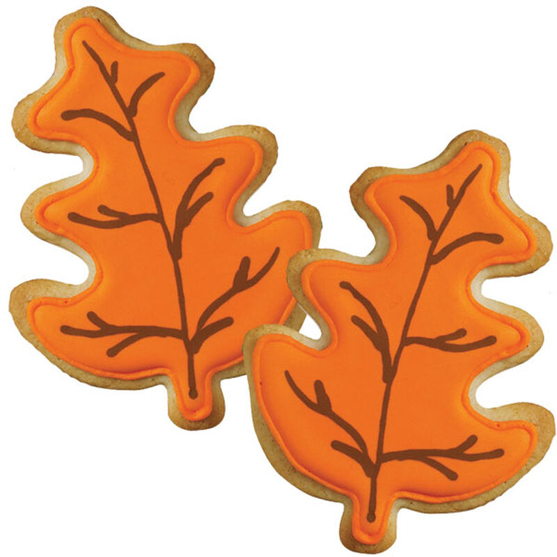 Autumn Leaves Color Flow Cookies image number 0