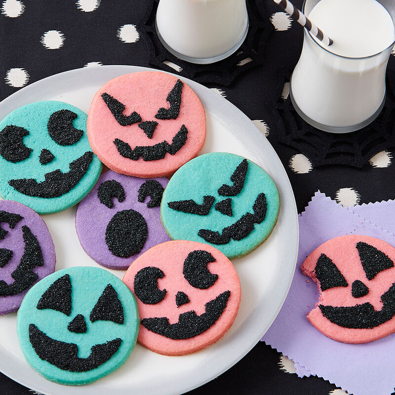 Spooky Face Cookies image number 0