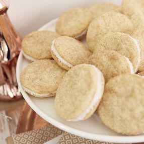 RumChata Snickerdoodle Sandwich Cookies Recipe