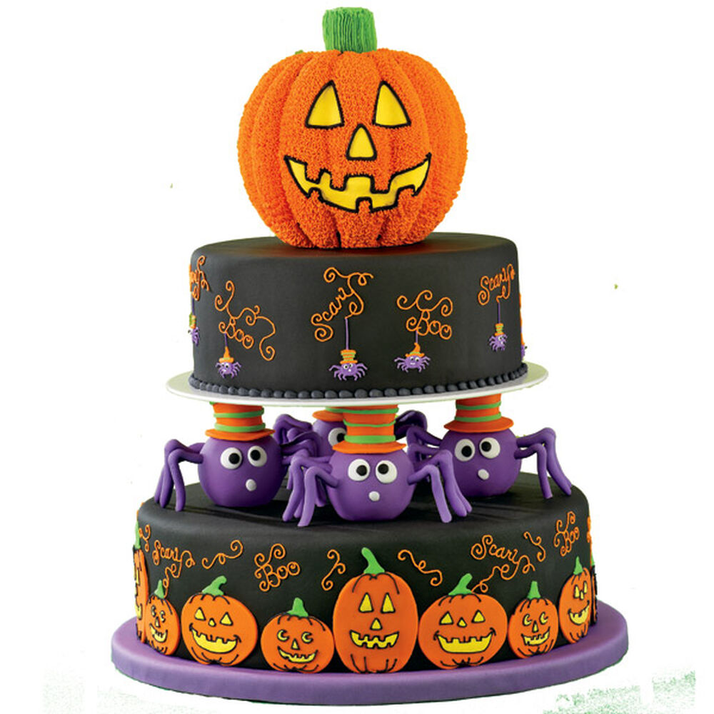 Spin A Scary Tale Cake Wilton