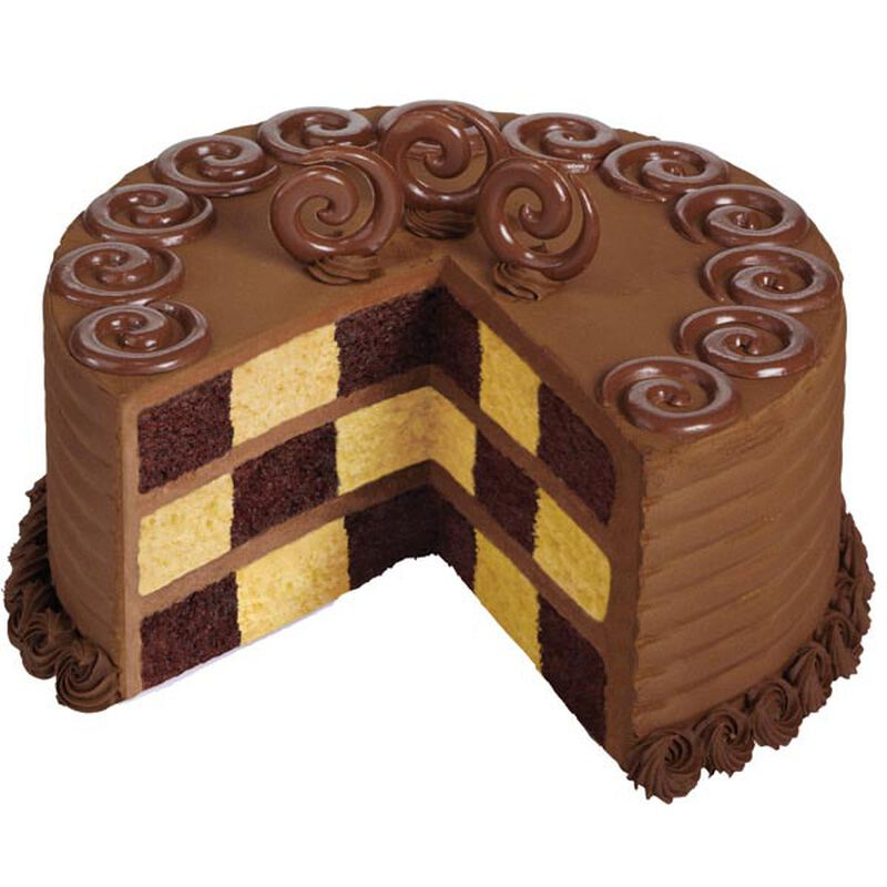 Chocolate Checkerboard Cake image number 0