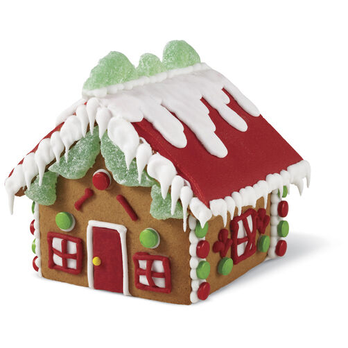 Large Classic Cottage Gingerbread House #8