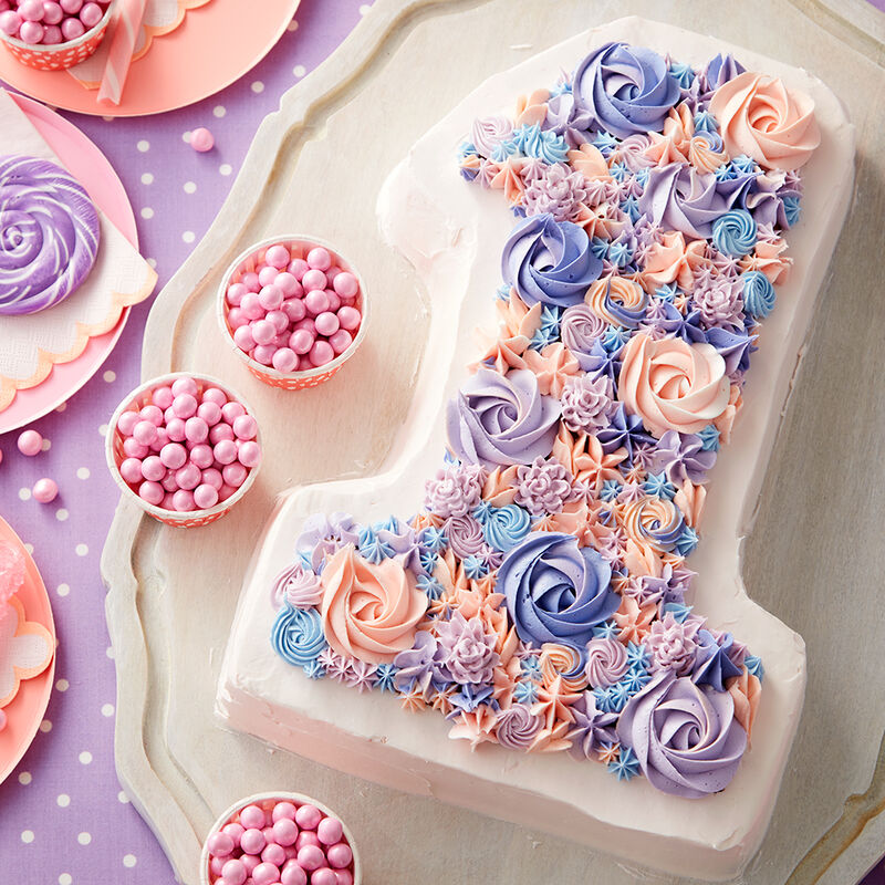 Blooming Number 1 Cake image number 0