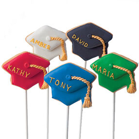 Sticking with Their Studies! Cookie Pops