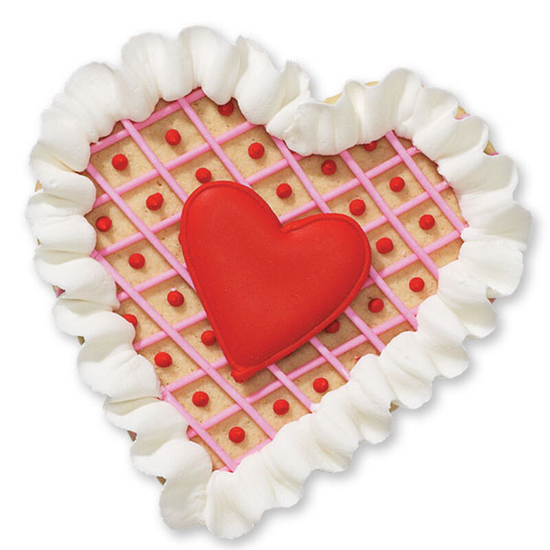 Ruffled Heart Cookies image number 0