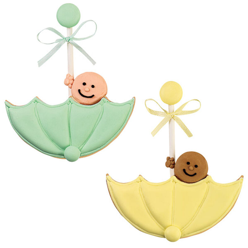 A Peek of Sunshine Baby Shower Cookie Favors image number 0