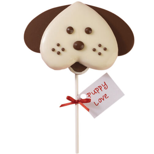Smooch from a Pooch Valentine's Day Cookies