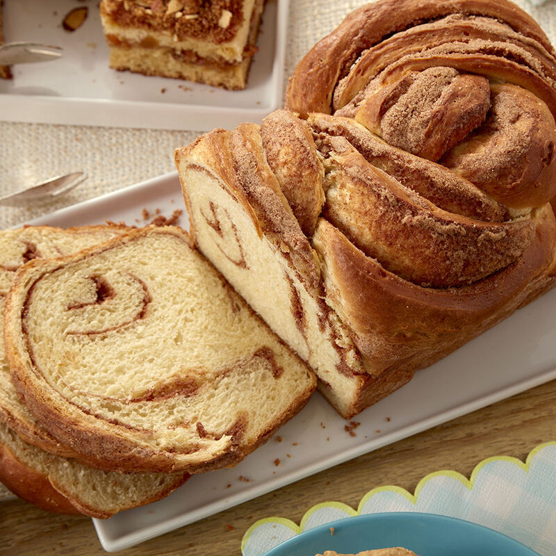 Cinnamon and Aleppo Pepper Braided Loaf Recipe image number 0