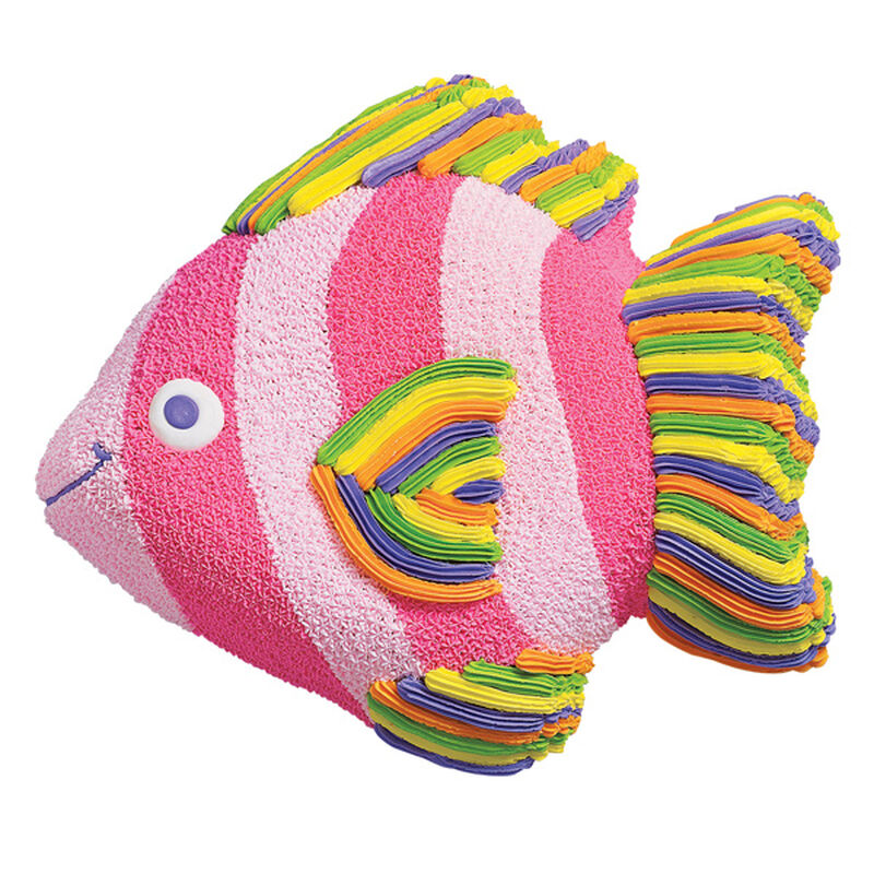 Rainbow Fish Cake  image number 0
