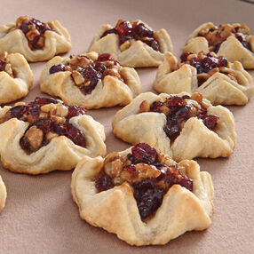 Cranberry Walnut Tarts