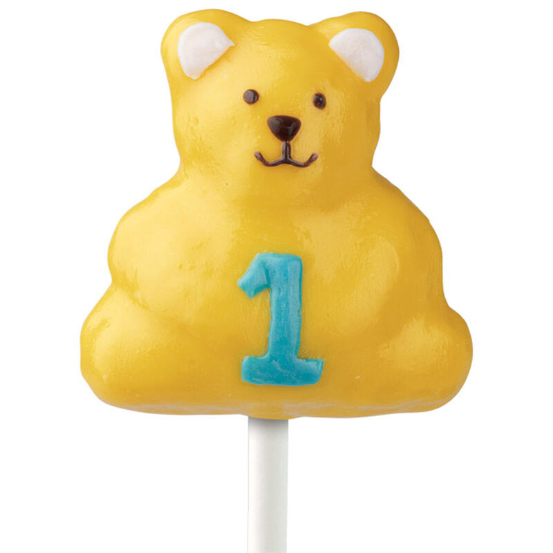 Number One Bear Cake on a Stick image number 0
