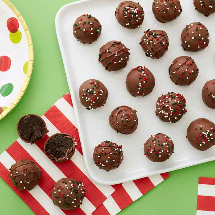 no bake truffle cookies