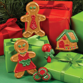 Gingerbread Candy Gift Accents