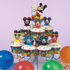 Multi Mickey Celebration Cupcakes