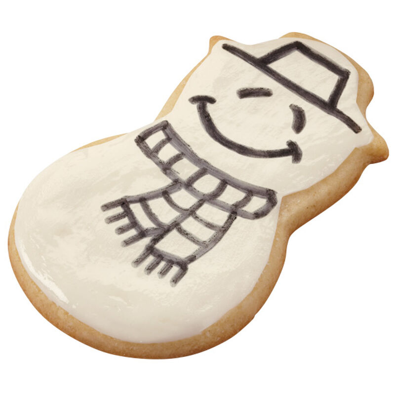 He's A Sketch! Snowman Cookies image number 0