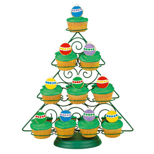 Ornament Cookie Cupcakes
