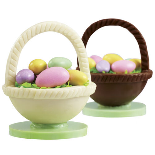 Homemade Easter Candy Baskets