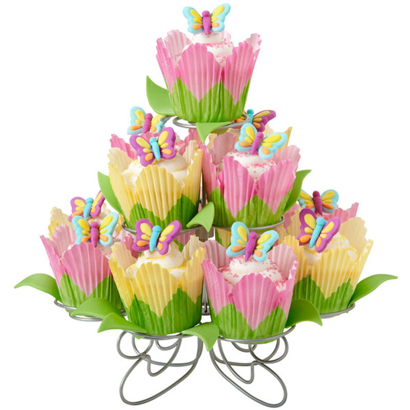 Butterfly Cupcake Garden for Mom image number 0