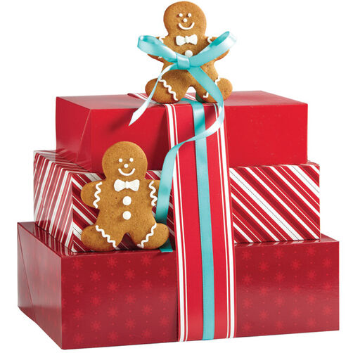Gingerbread Gift Greetings Cookies