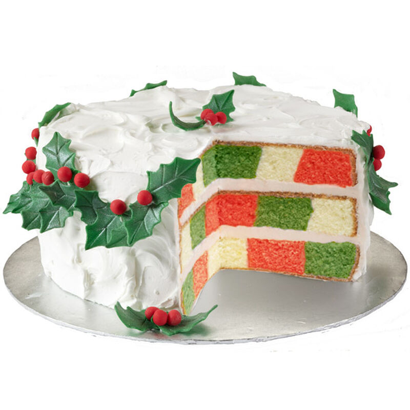Happy Holly-Day Cake image number 0