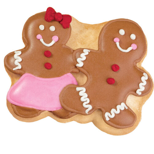 Charming Couple Holiday Pan Cookies