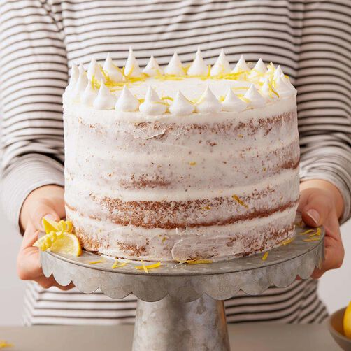Lemon Poppy Seed Cake Taste