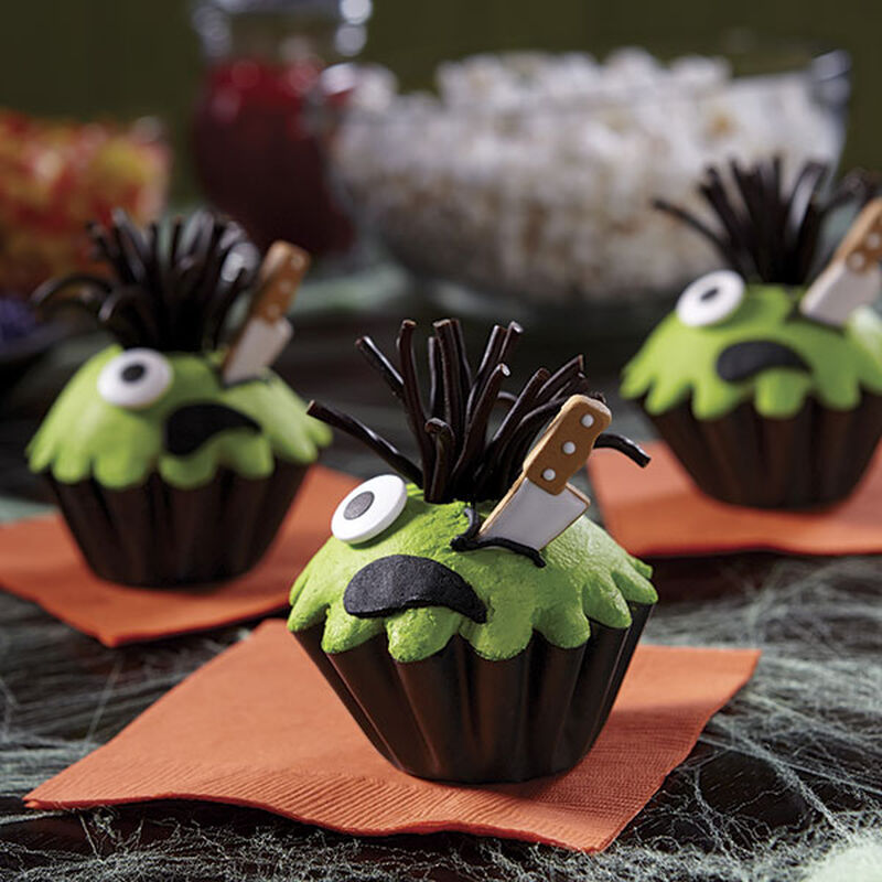 Green Monster Cupcakes image number 0