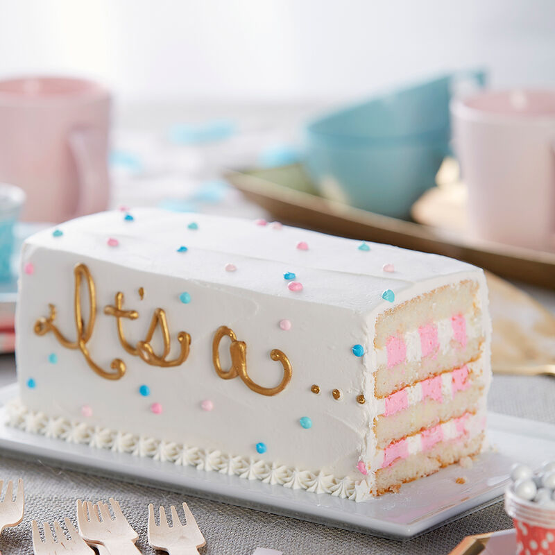 It?s a?Gender Reveal Cake image number 0