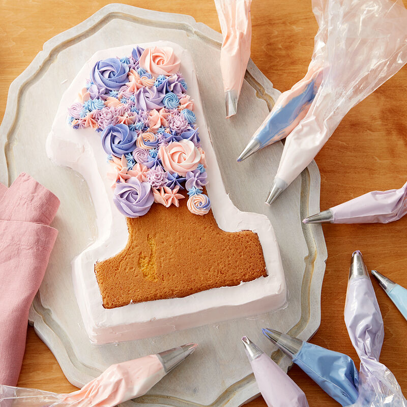Blooming Number 1 Cake image number 1