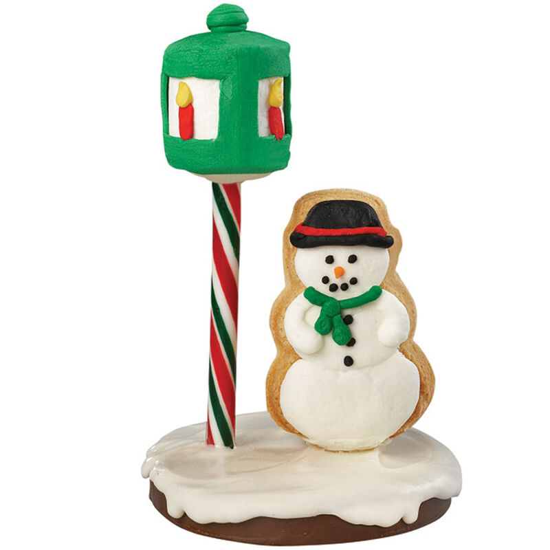 Snowman in the Spotlight Cookie image number 0