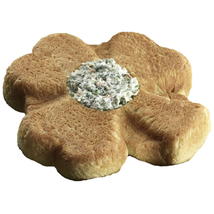 Shamrock Herb Bread with Spinach Dip