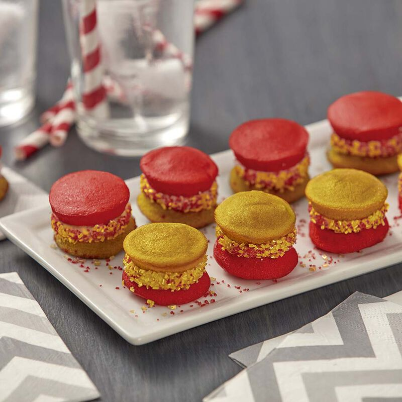 Wilton Red and Silver Mini Whoopie Pies image number 0