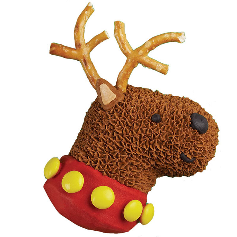 Santa's Deer Friend Mini Cake image number 0