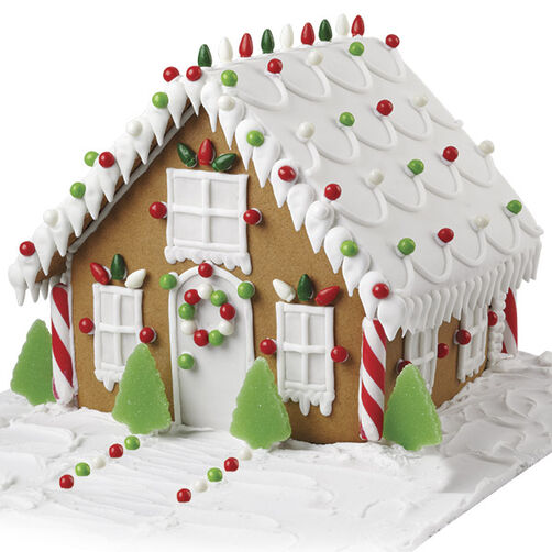 Light Up Christmas Night! Gingerbread House