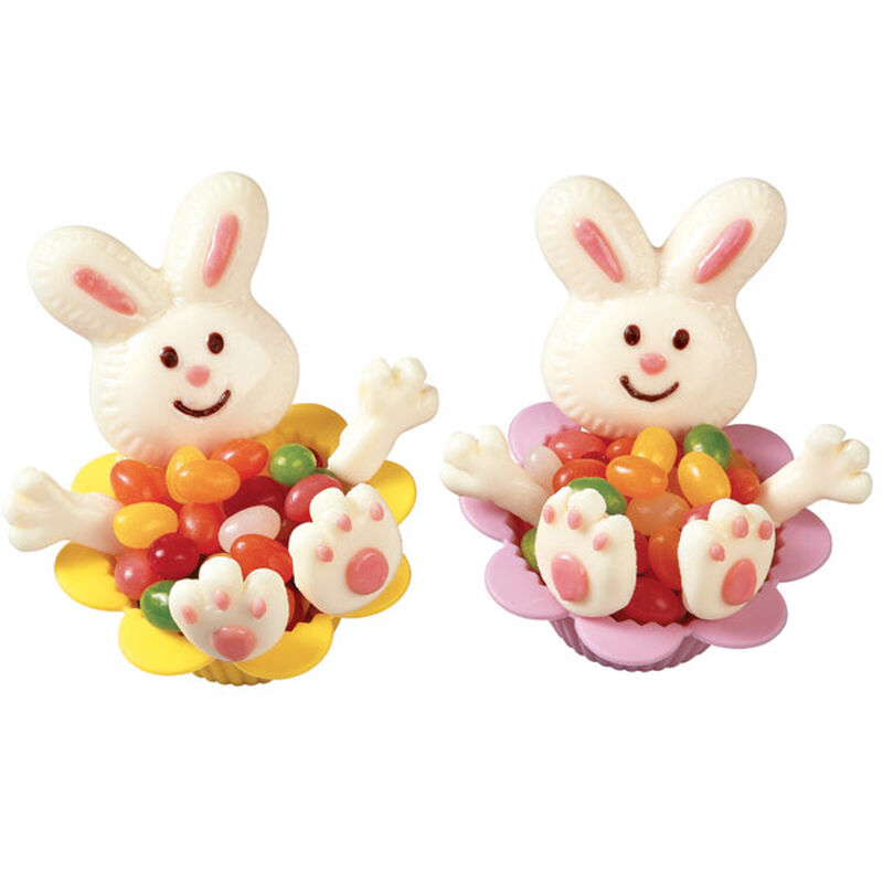 Bunny Jelly Bean Basket image number 0