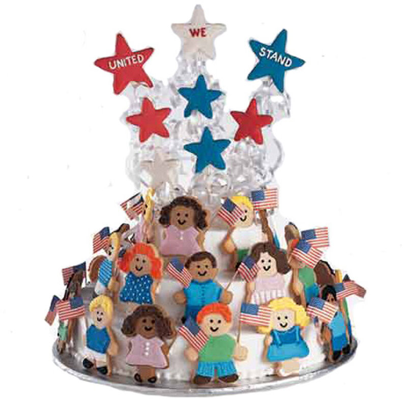 United We Stand Cake image number 0