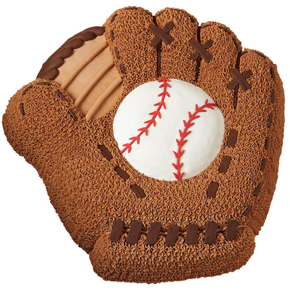 How To Make A Baseball Glove Cupcake Cake