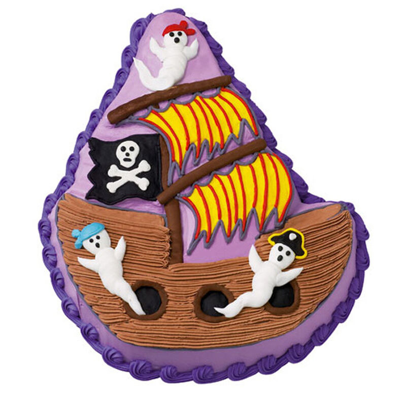 Ghost Ship Cake image number 0