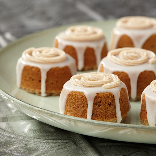 Apple Spice Spool Cakes