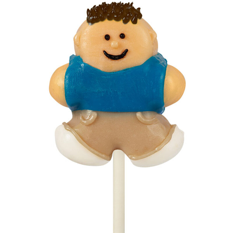 Dude Cake Pop Characters image number 0