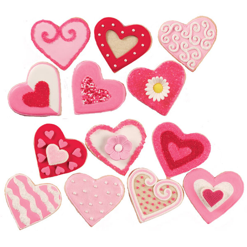 Variety of Valentine's Day Cookies image number 0
