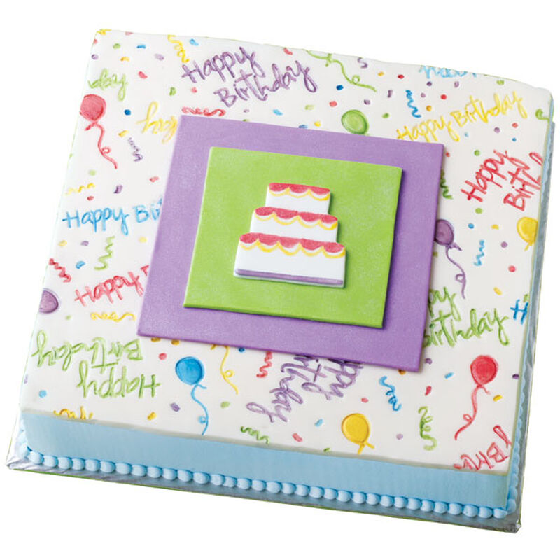 A Caketop Canvas Cake image number 0