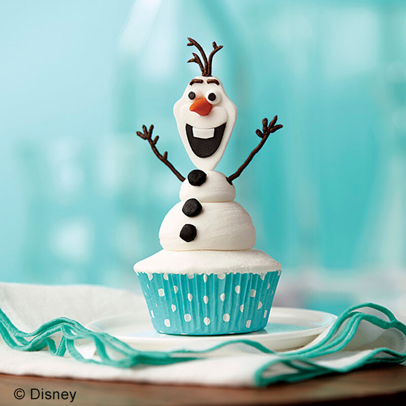 Olaf the Snowman Cupcakes image number 0
