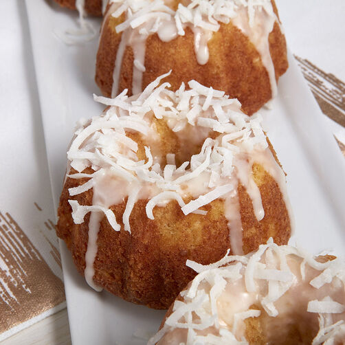 Mini Pineapple Coconut Cakes Recipe