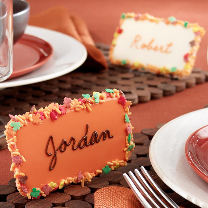 Thanksgiving Placecard Markers image number 0