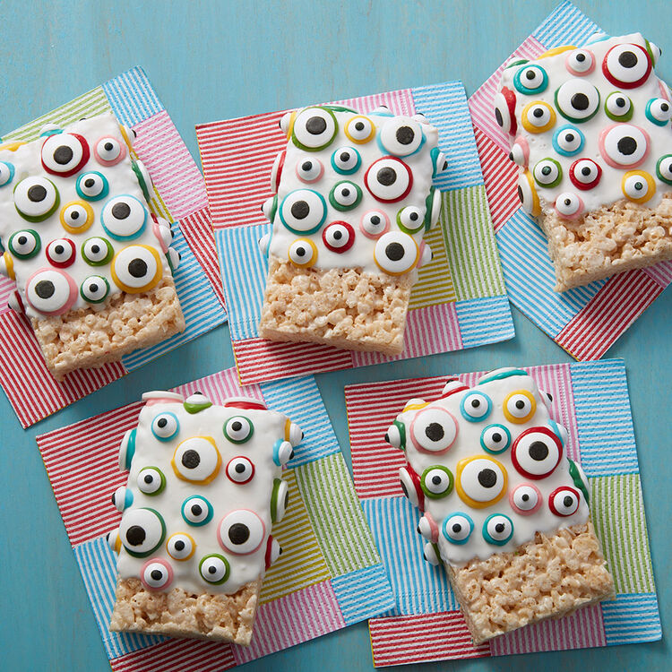Eye Spy Halloween Rice Crispy Treats