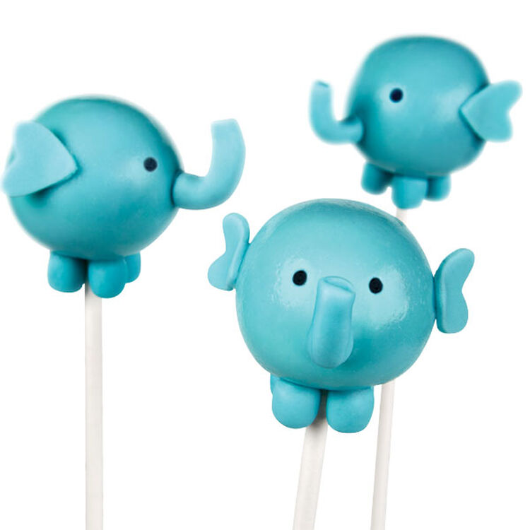 Elephants for Infants Cake Pops