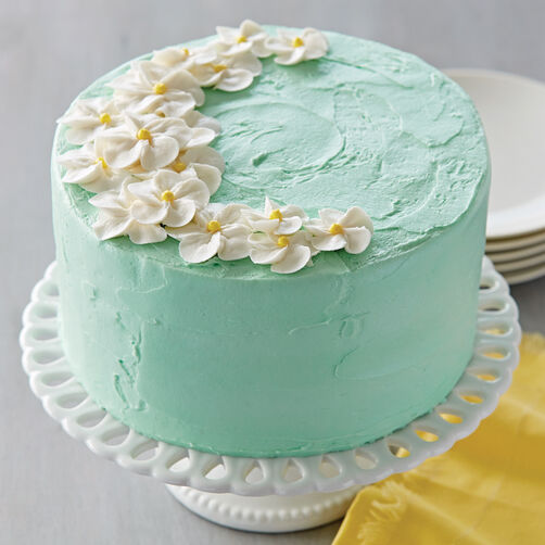 Make it Mint Petal Flower Cake