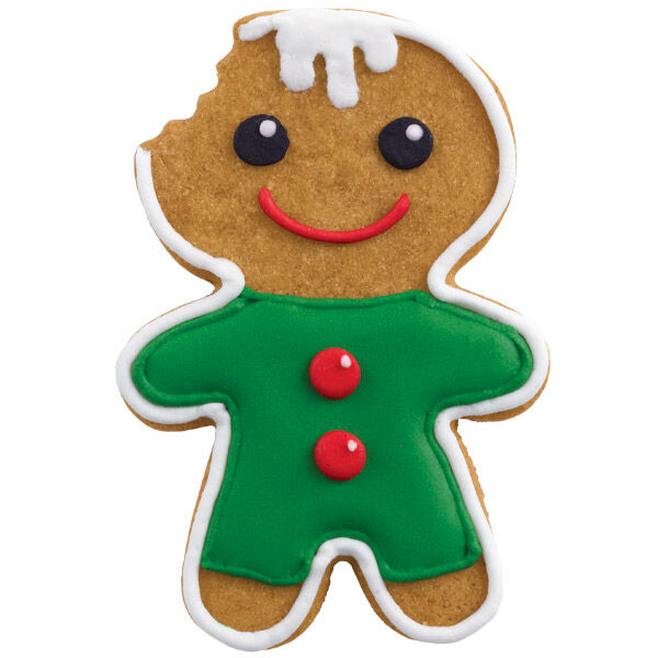 Blues clues gingerbread boy Purple Gingerbread Boy Cookie Going Fast Fandom Round Piping Tip Wilton